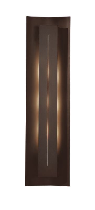 Hubbardton Forge 217635-03 Mahogany Contemporary Gallery Wall Sconce