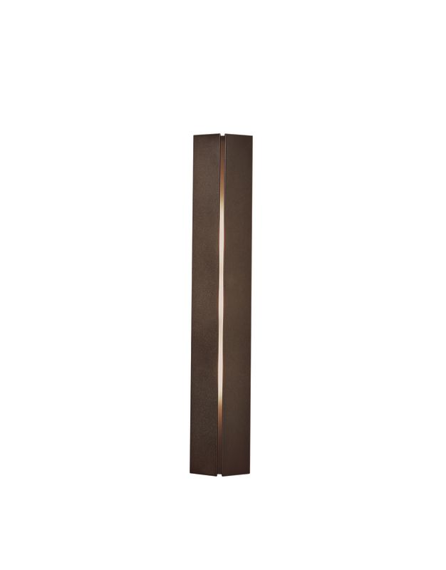 Hubbardton Forge 217650-03 Mahogany Contemporary Gallery Wall Sconce