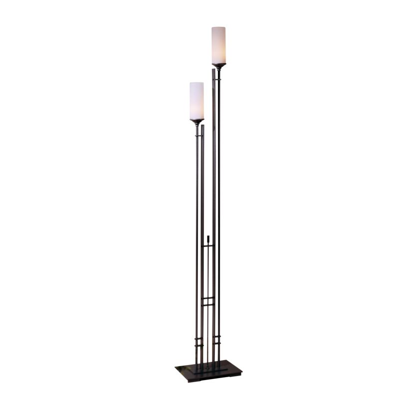 "Hubbardton Forge 248416 Metra 2 Light 74"" High Torchiere Floor Lamp"