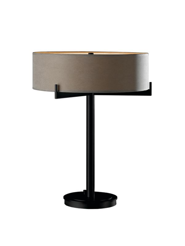 hubbardton forge 266401 10 black 2 light 200 watt 21 table lamp from