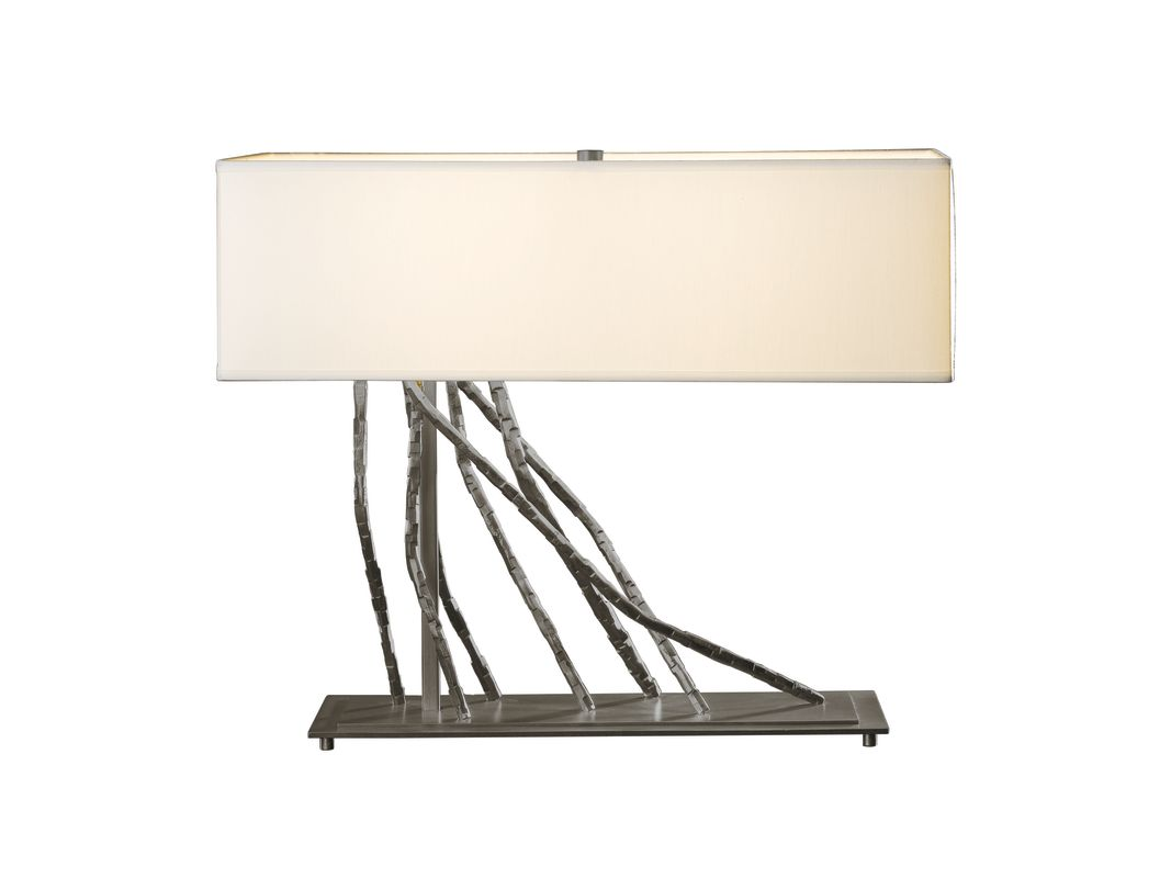 Hubbardton Forge 277660 Brindille 2 Light Table Lamp Dark Smoke Lamps Sale $891.00 ITEM: bci2007338 ID#:277660-07 :