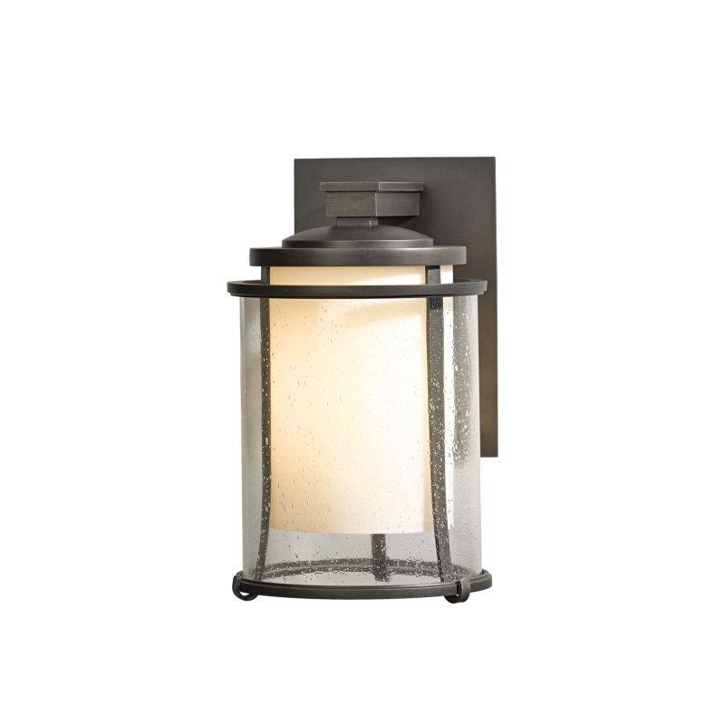 "Hubbardton Forge 305610 Meridian Single Light 7"" Wide Outdoor Wall"