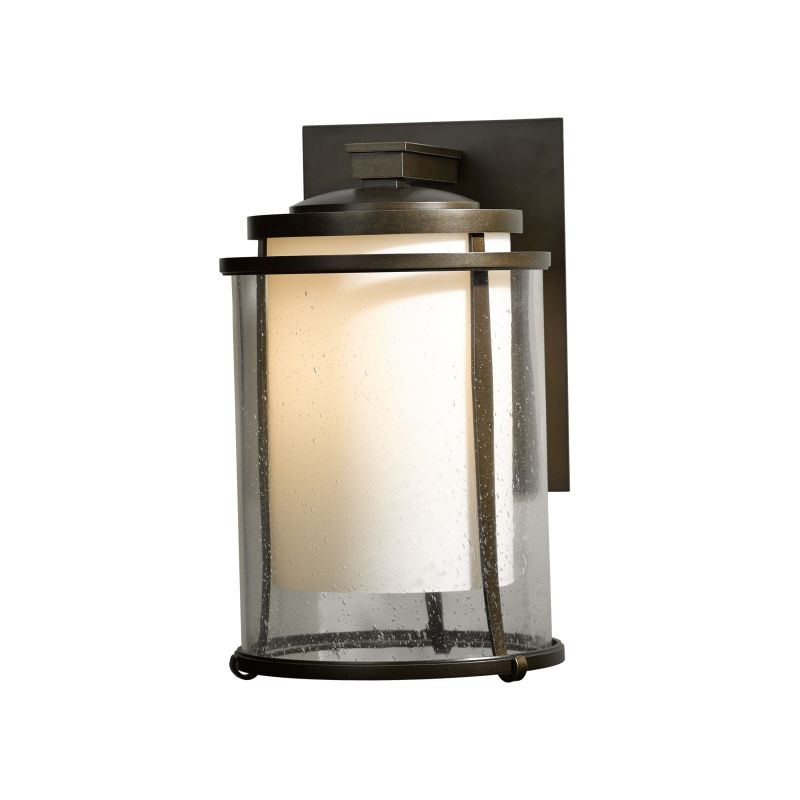 "Hubbardton Forge 305615 Meridian Single Light 9"" Wide Outdoor Wall"