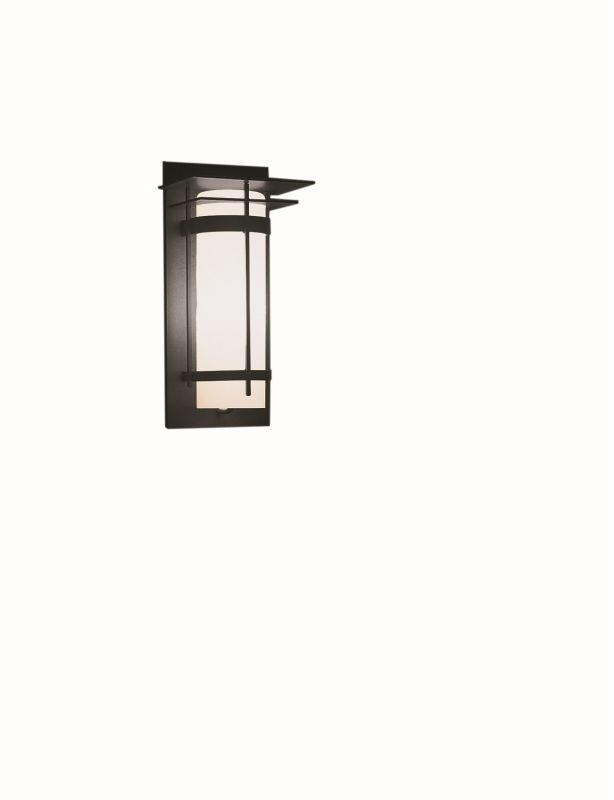 "Hubbardton Forge 305993 Banded Single Light 7"" Wide Outdoor Wall"