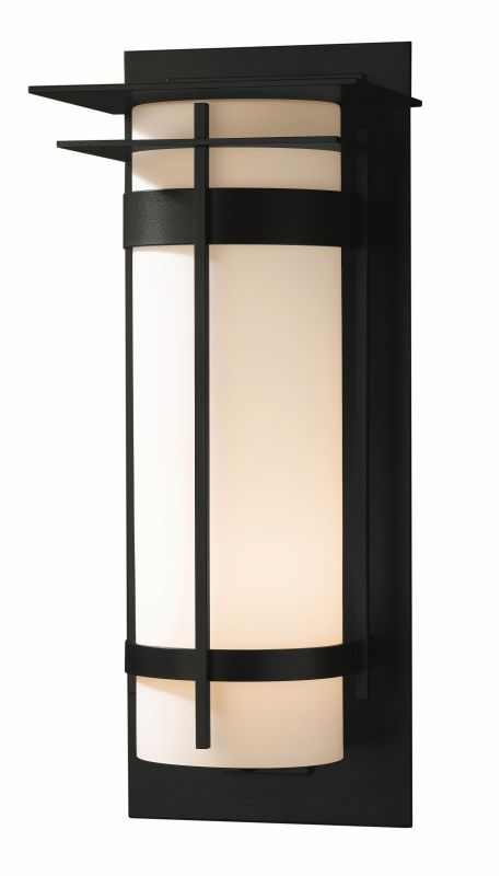 "Hubbardton Forge 305995 Banded Single Light 10"" Wide Outdoor Wall"