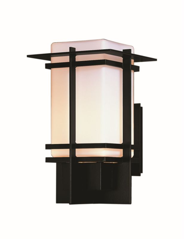 "Hubbardton Forge 306002 Tourou Single Light 8"" Wide Outdoor Wall"