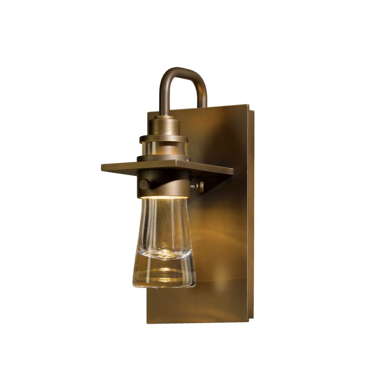 "Hubbardton Forge 307710 Erlenmeyer Single Light 4"" Wide Outdoor Wall"