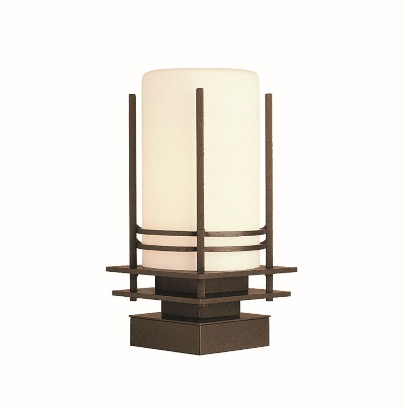 "Hubbardton Forge 335796D Banded Single Light 7"" Wide LED Outdoor Pier"