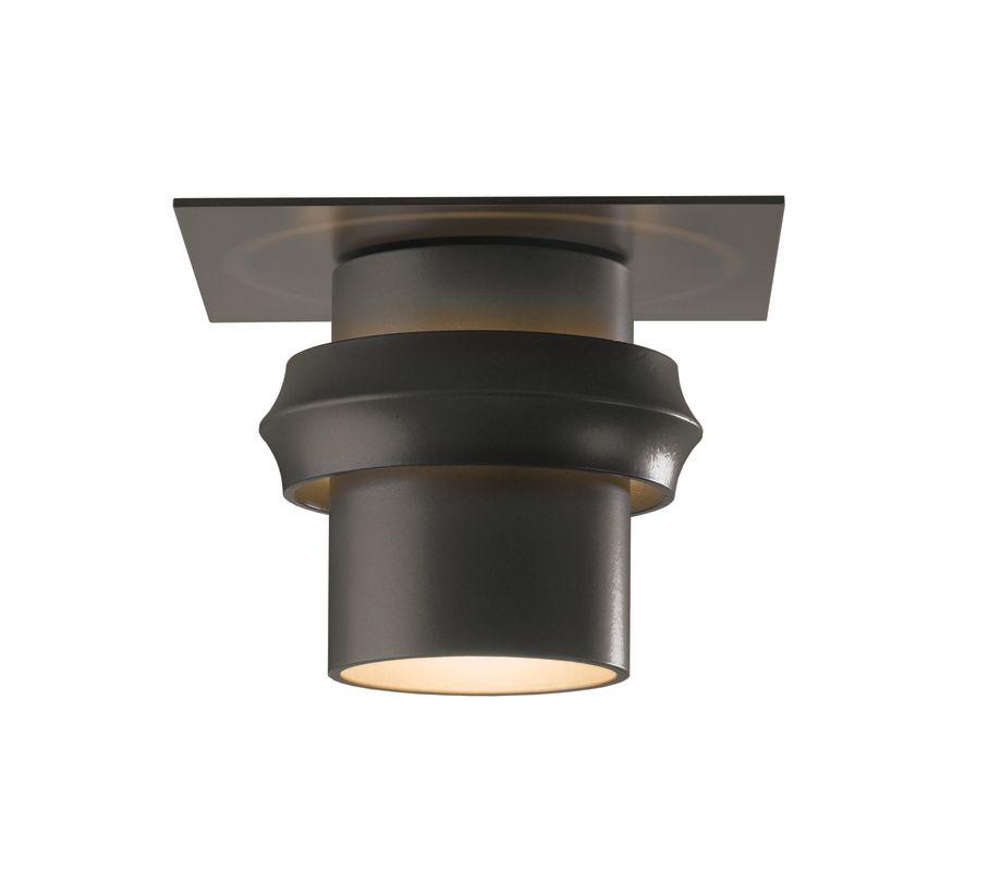 Hubbardton Forge 364903 1 Light 100 Watt Medium Outdoor Semi-Flush