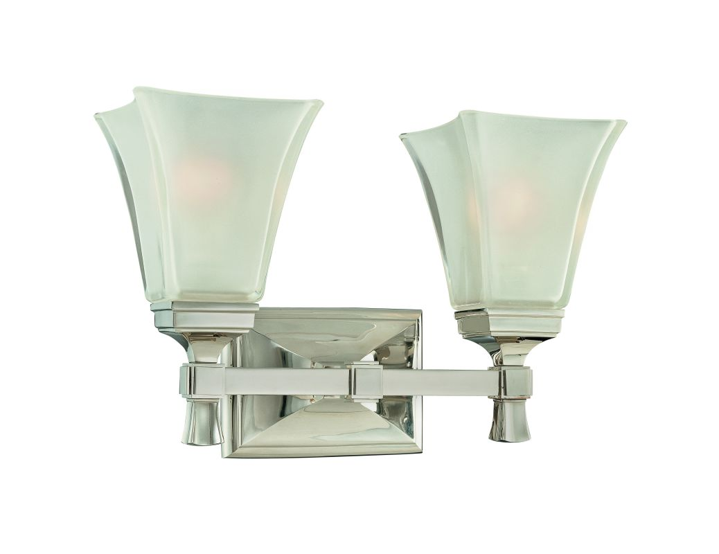 Hudson Valley Lighting 1172 Two Light Wall Sconce from the Kirkland Sale $320.00 ITEM: bci982315 ID#:1172-PN UPC: 806134097936 :