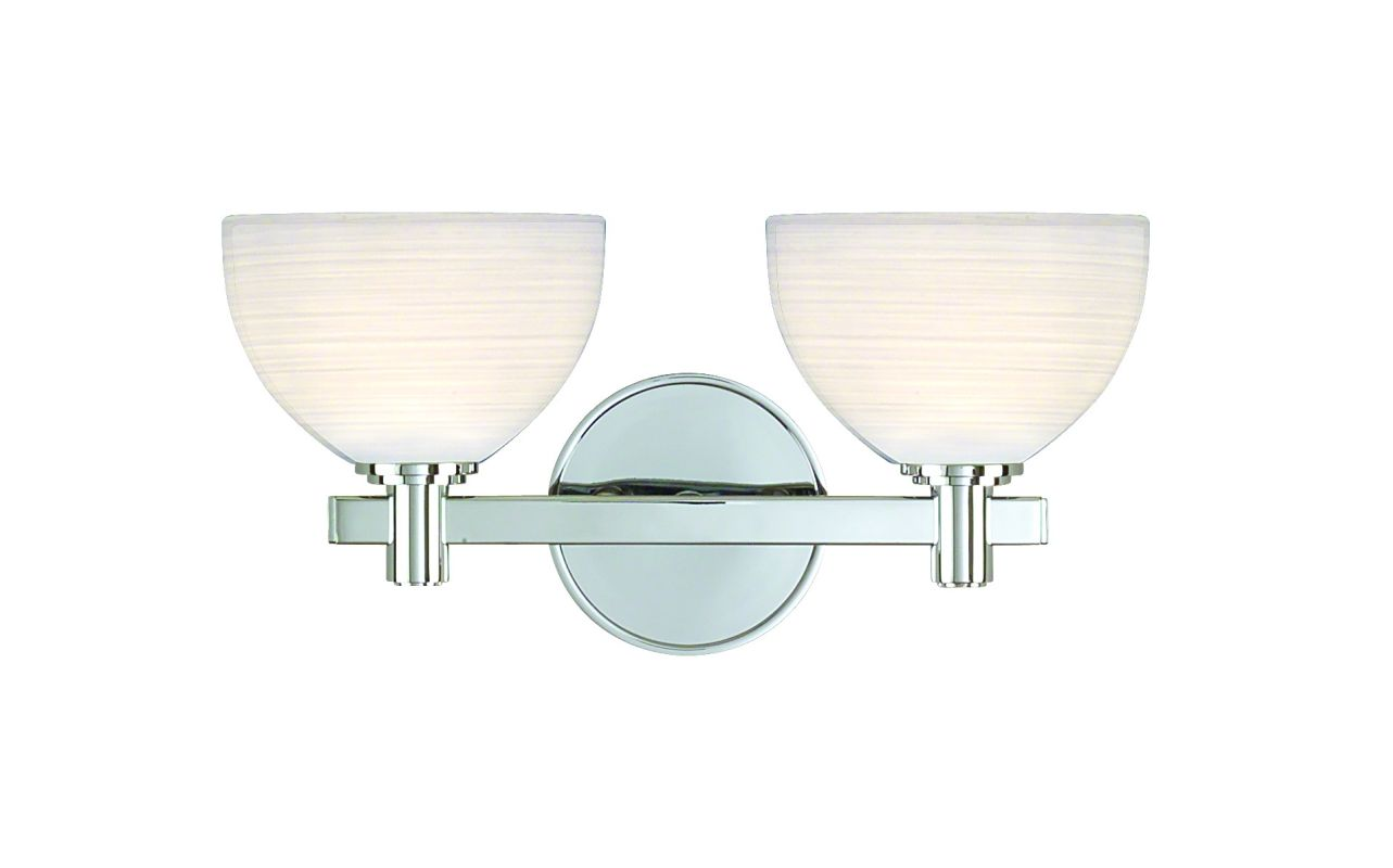 "Hudson Valley Lighting 1402 14.62"" Wide Double Light Bathroom Fixture"