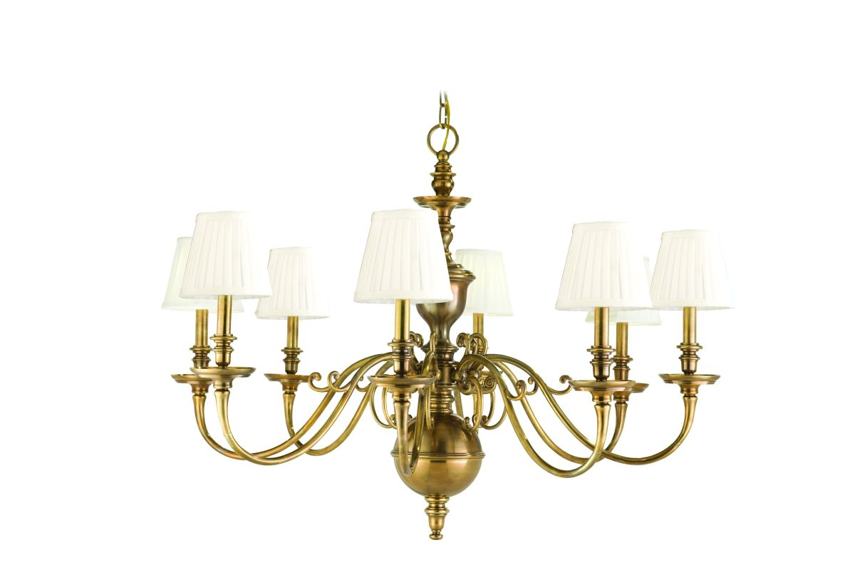 Hudson Valley Lighting 1748 Eight Light Up Lighting Cast Brass Sale $2772.00 ITEM: bci1336092 ID#:1748-AGB UPC: 806134108120 :