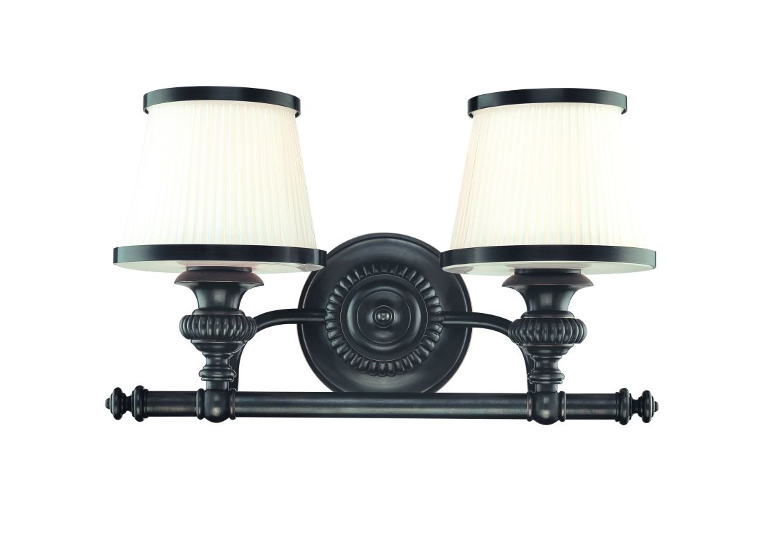 Hudson Valley Lighting 2002 Two Light Wall Sconce from the Milton Sale $320.00 ITEM: bci982402 ID#:2002-OB UPC: 806134097813 :