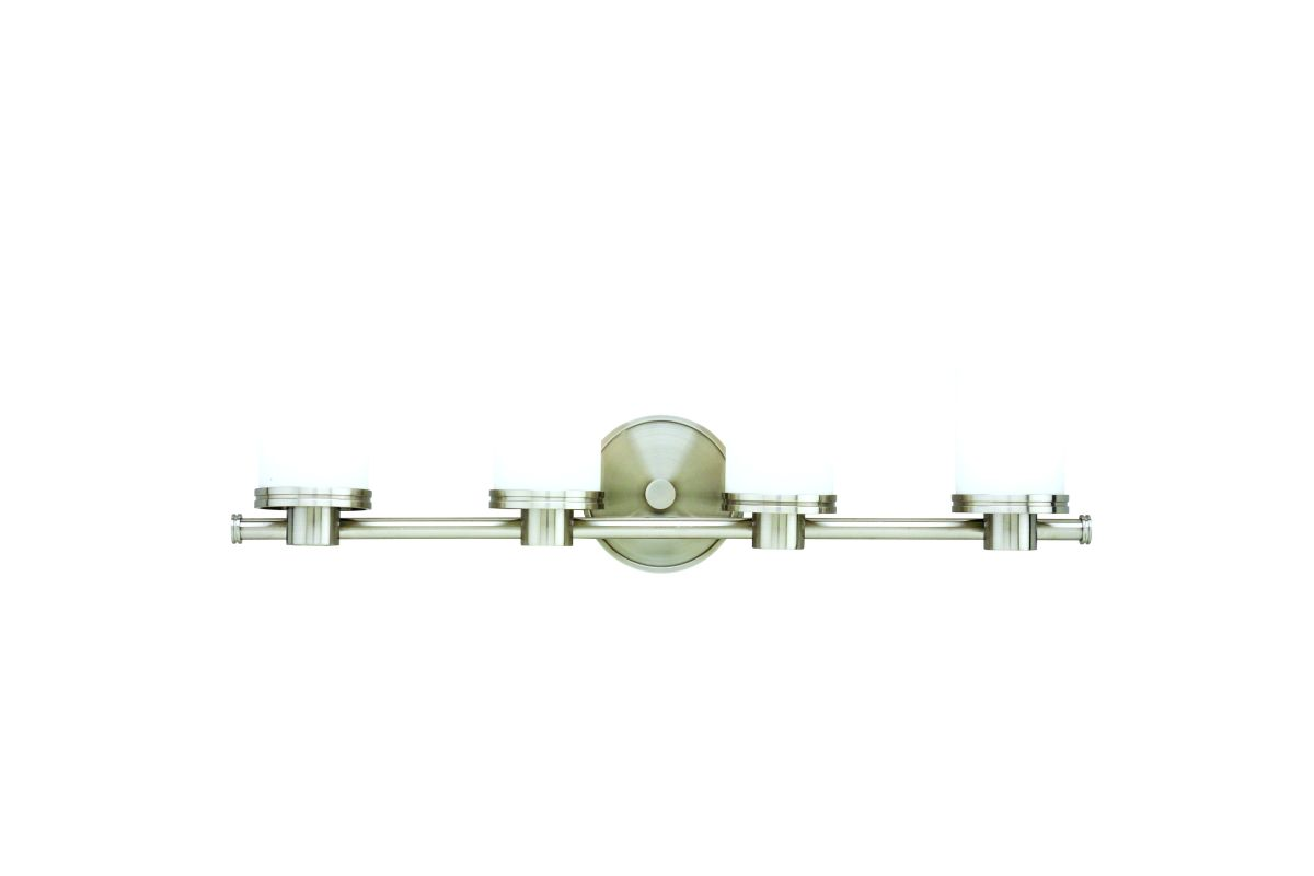 Hudson Valley 2054 Nickel Contemporary Southport Bathroom Light