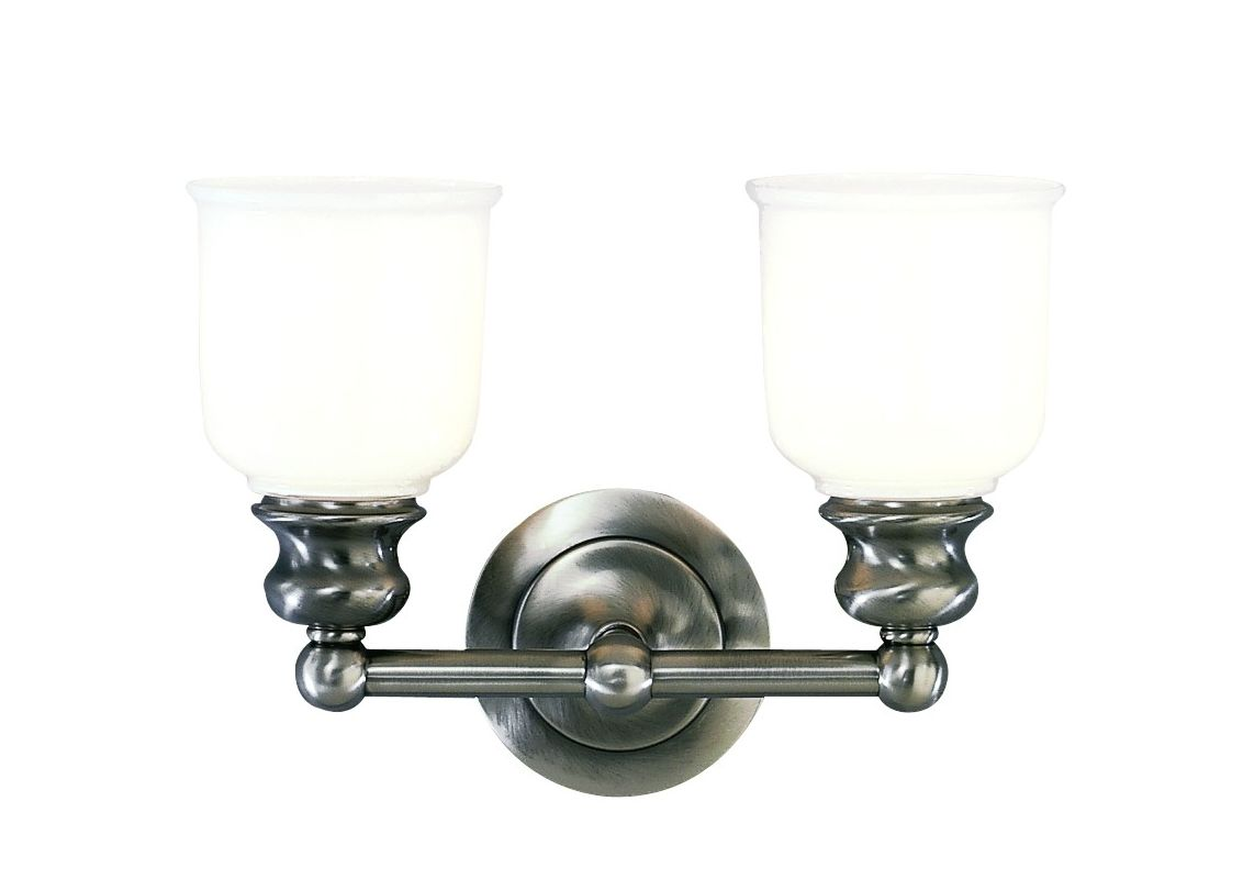 "Hudson Valley Lighting 2302 Two Light 14"" Wide Bathroom Fixture from Sale $278.00 ITEM: bci525982 ID#:2302-AN UPC: 806134012069 :"