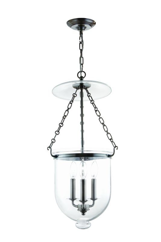 Hudson Valley Lighting 254-C1 Three Light Pendant from the Hampton Sale $798.00 ITEM: bci983651 ID#:254-HN-C1 UPC: 806134056988 :