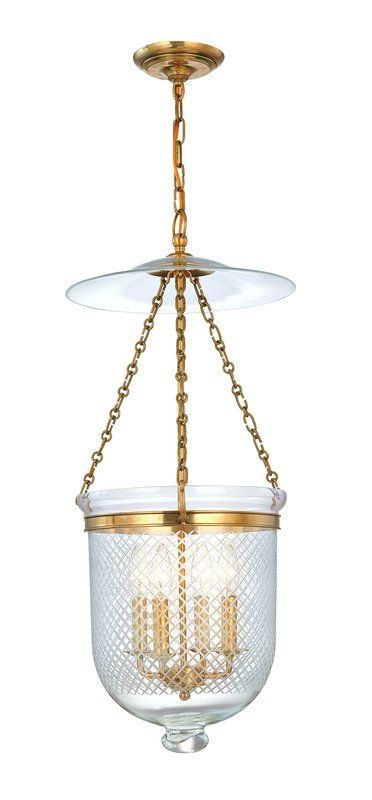 Hudson Valley Lighting 255-C2 Four Light Pendant from the Hampton Sale $1060.00 ITEM: bci983695 ID#:255-AGB-C2 UPC: 806134057350 :