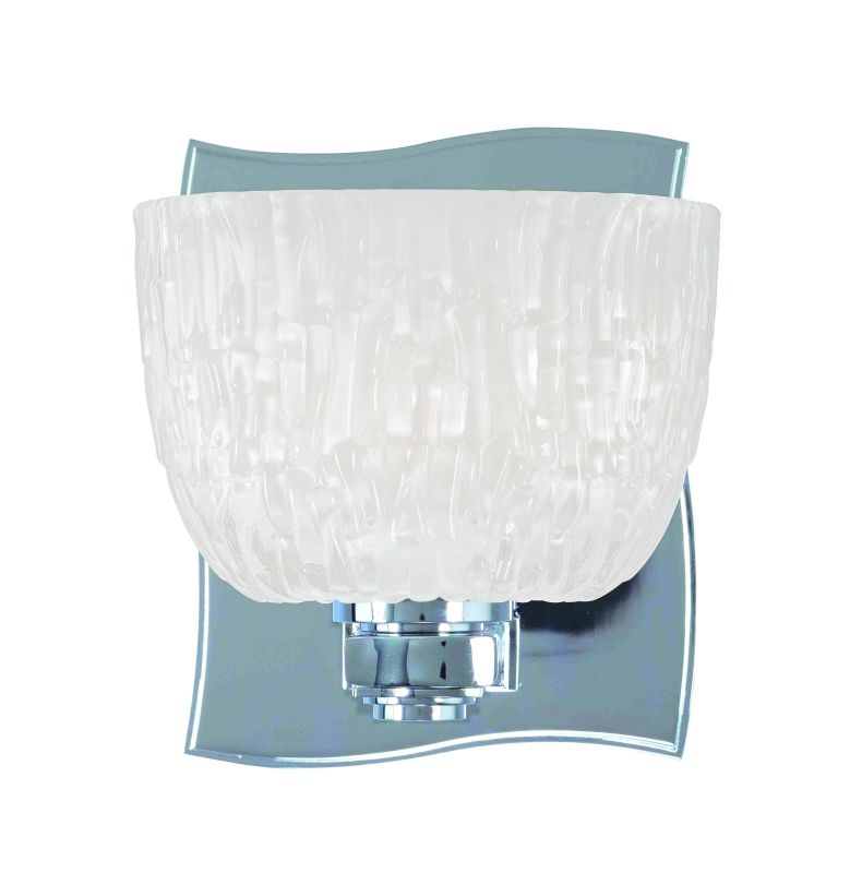 Hudson Valley Lighting 2661 Single Light Up Lighting Bath Vanity with Sale $172.00 ITEM: bci1737234 ID#:2661-PC UPC: 806134123451 :