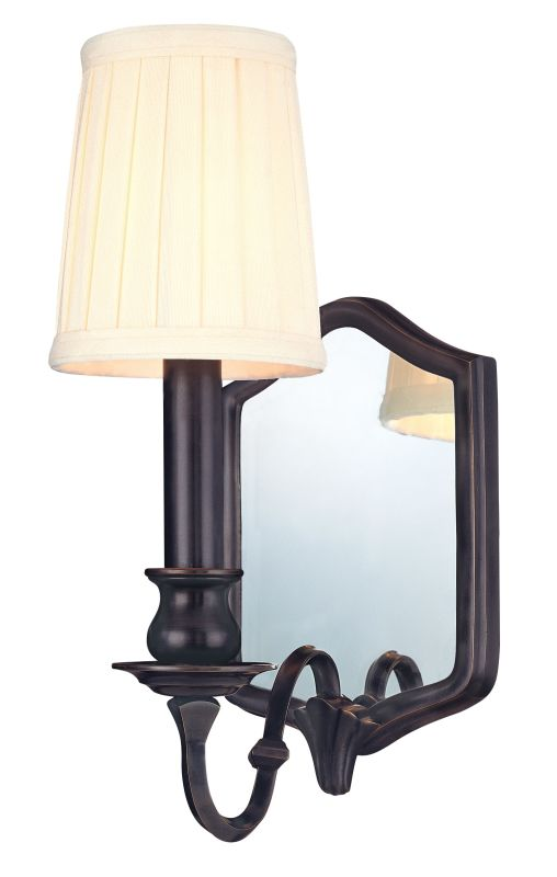 Hudson Valley Lighting 271 One Light Mirrored Wall Sconce from the Sale $145.60 ITEM: bci982142 ID#:271-OB UPC: 806134055936 :