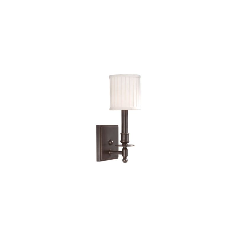 Hudson Valley Lighting 301 Palmer 1 Light Wall Sconce Old Bronze