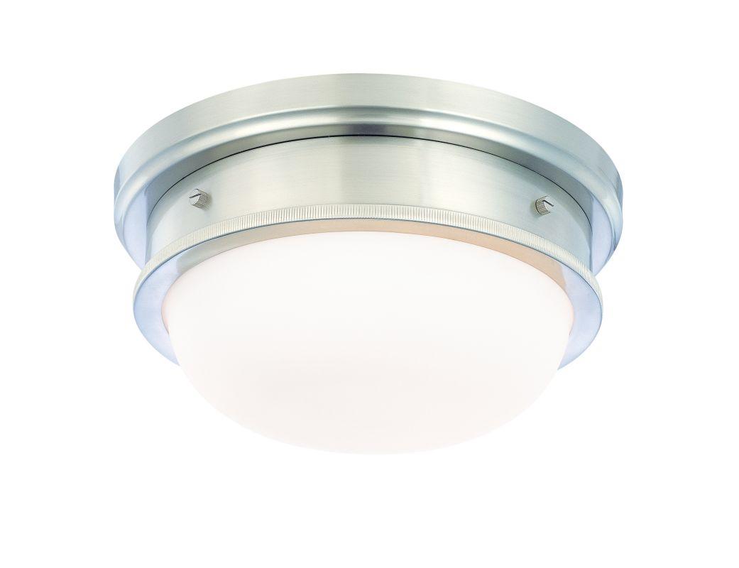 Hudson Valley 3322-SN Satin Nickel Industrial Trumbull Ceiling Light