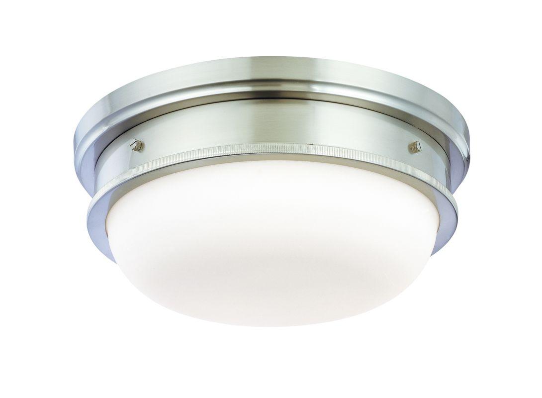 Hudson Valley 3323-SN Satin Nickel Industrial Trumbull Ceiling Light