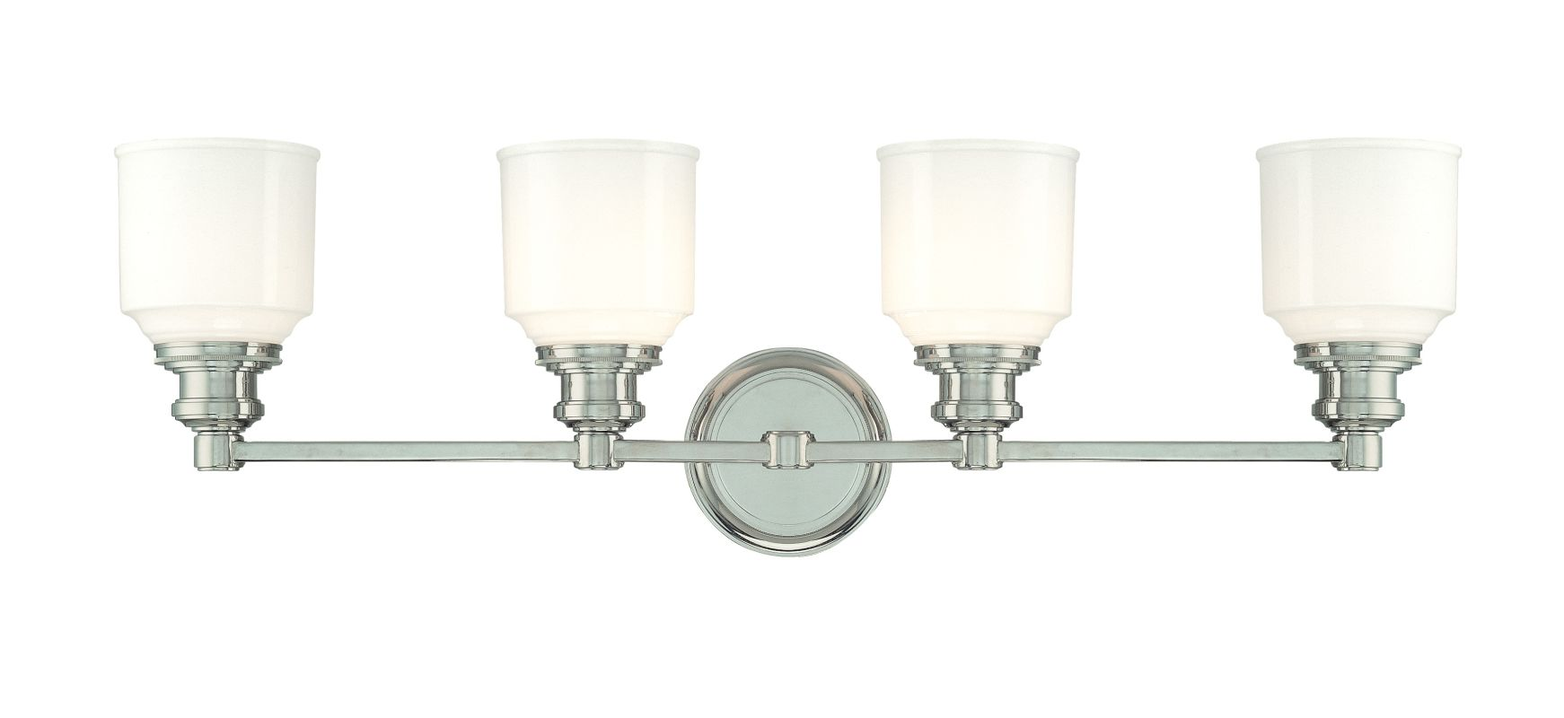 Hudson Valley Lighting 3404 Four Light Wall Sconce from the Windham Sale $450.00 ITEM: bci982519 ID#:3404-PN UPC: 806134096663 :
