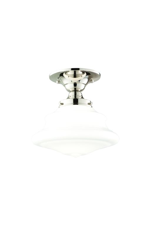 Hudson Valley Lighting 3409F One Light Semi Flush Ceiling Fixture from Sale $179.00 ITEM: bci984404 ID#:3409F-PN UPC: 806134023218 :