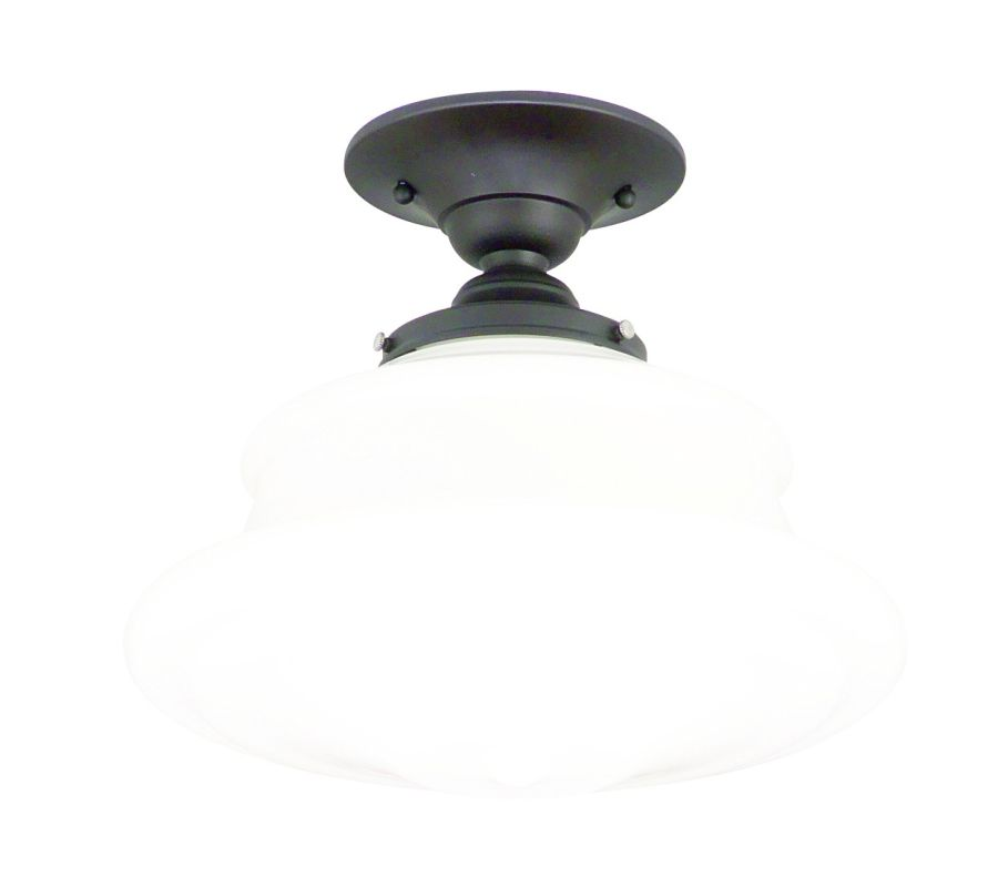 Hudson Valley Lighting 3412F Single Light Semi Flush Ceiling Mount Sale $219.00 ITEM: bci525138 ID#:3412F-OB UPC: 806134023263 :