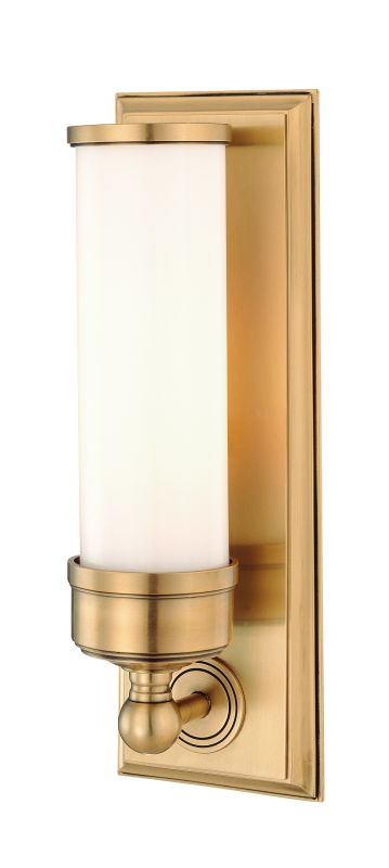 Hudson Valley 371-AGB Aged Brass Contemporary Everett Wall Sconce