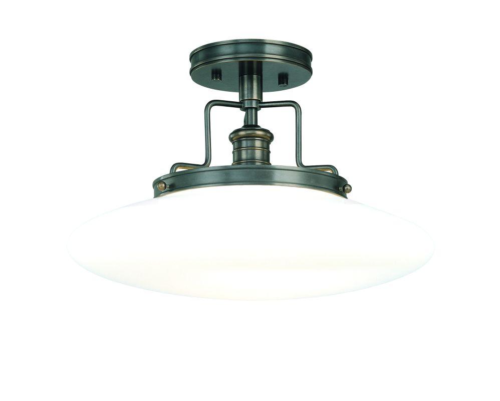 Hudson Valley 4205-OB Bronze Industrial Beacon Ceiling Light