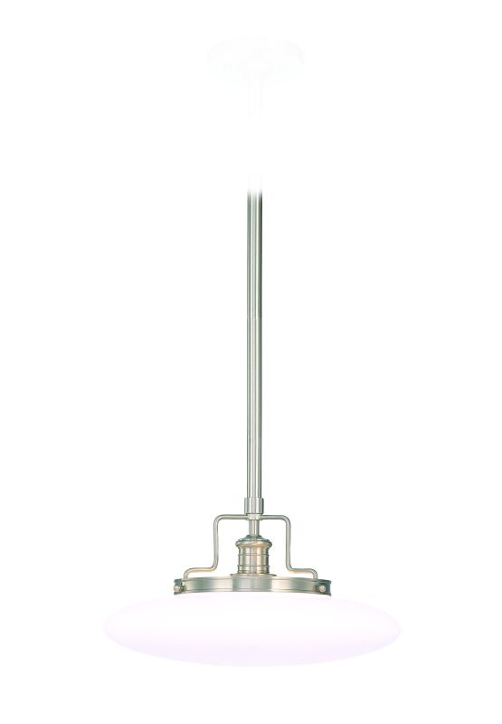 Hudson Valley Lighting 4225-SN Satin Nickel Industrial Beacon Pendant