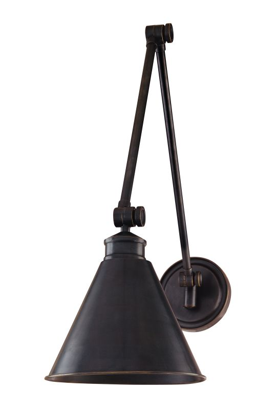 Hudson Valley Lighting 4721 One Light Wall Sconce from the Exeter Sale $482.00 ITEM: bci982642 ID#:4721-OB UPC: 806134059743 :