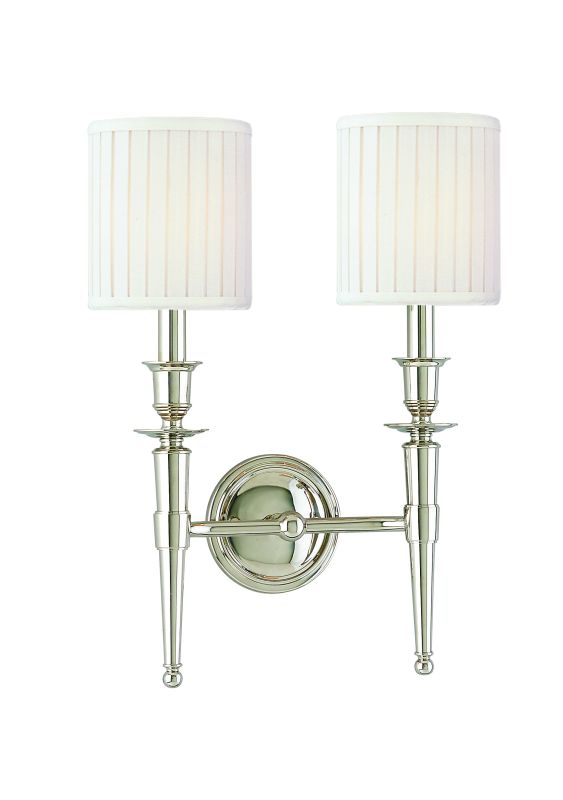 Hudson Valley Lighting 4902 Abington 2 Light Double Wall Sconce with Sale $386.00 ITEM: bci524798 ID#:4902-PN UPC: 806134026851 :