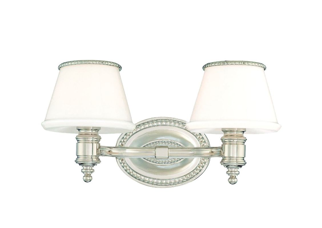 Hudson Valley Lighting 4942 Richmond 2 Light Bathroom Vanity Fixture Sale $344.00 ITEM: bci982690 ID#:4942-PN UPC: 806134101749 :