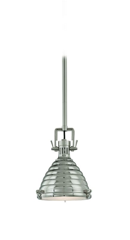 Hudson Valley 5109-PN Polished Nickel Industrial Naugatuck Pendant