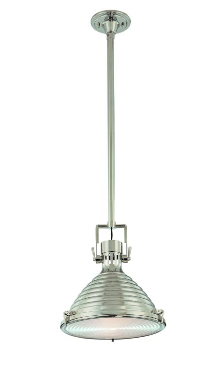 Hudson Valley 5115-PN Polished Nickel Industrial Naugatuck Pendant