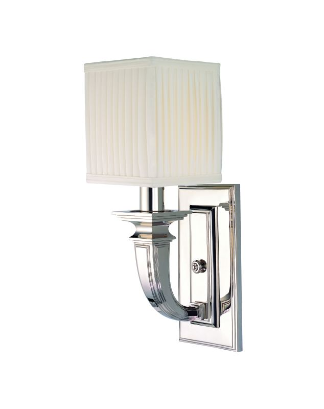 Hudson Valley Lighting 541 Phoenicia 1 Light Solid Brass Wall Sconce Sale $428.00 ITEM: bci1737446 ID#:541-PN UPC: 806134117870 :