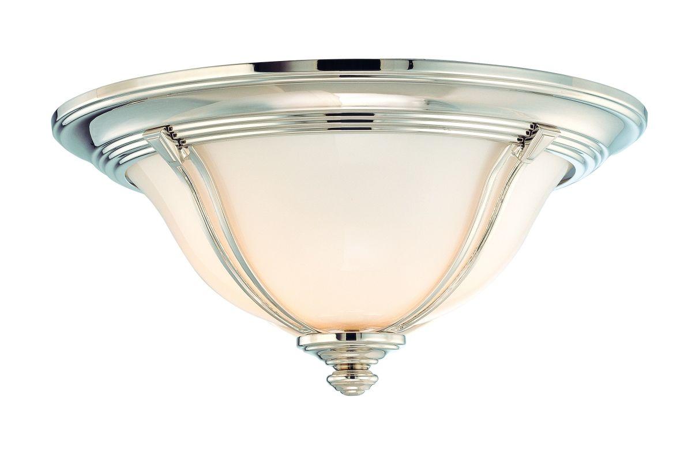 Hudson Valley Lighting 5414 Carrollton 2 Light Flush Mount Ceiling Sale $369.00 ITEM: bci1103425 ID#:5414-PN UPC: 806134106065 :