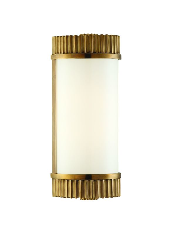 """Hudson Valley Lighting 561 Single Light Up / Down Lighting Brass Wall Sale $450.00 ITEM: bci1737477 ID#:561-AGB UPC: 806134112912 Product Features: Finish: Distressed Bronze , Light Direction: Up / Down Lighting , Width: 5"""" , Height: 12.5"""" , Genre: Transitional , Bulb Type: Incandescent , Number of Bulbs: 1 , Fully covered under Hudson Valley Lighting warranty , Location Rating: Indoor Use :"""