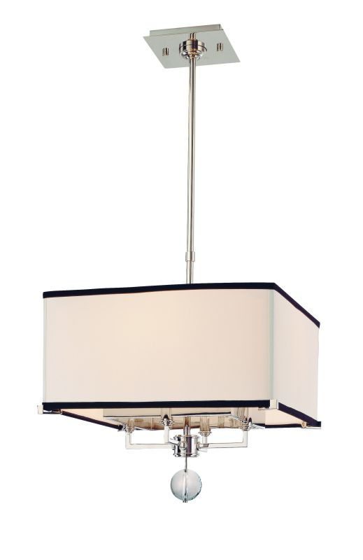 Hudson Valley 5644-PN Nickel Contemporary Gresham Park Pendant