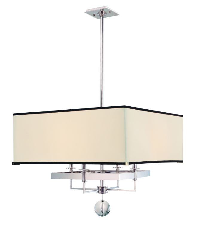 Hudson Valley 5646-PN Nickel Contemporary Gresham Park Chandelier
