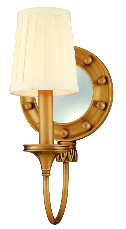 Hudson Valley Lighting 631 One Light Mirrored Wall Sconce from the Sale $320.00 ITEM: bci982213 ID#:631-AGB UPC: 806134055844 :