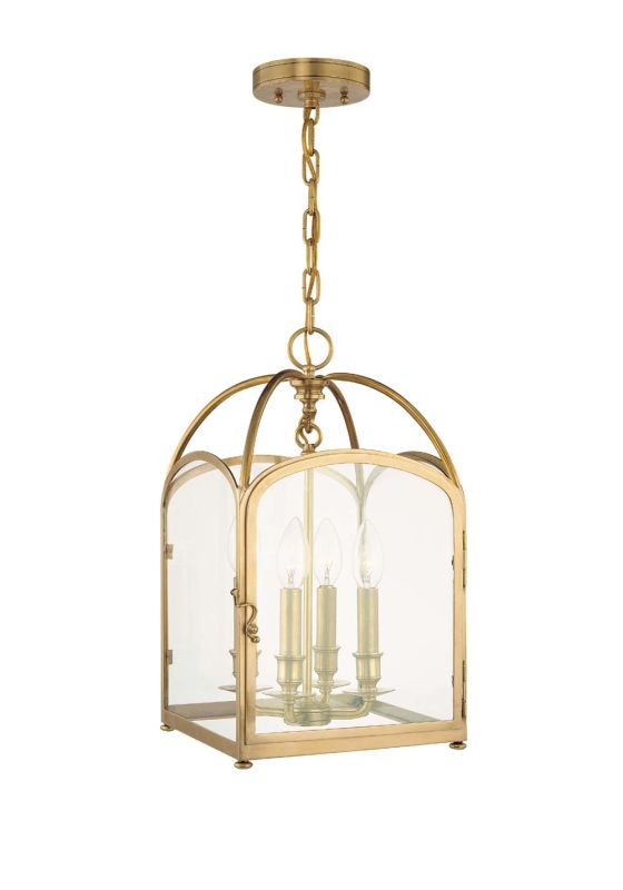 Hudson Valley Lighting 6480 Four Light Pendant from the Oxford Sale $1060.00 ITEM: bci525212 ID#:6480-AGB UPC: 806134042004 :