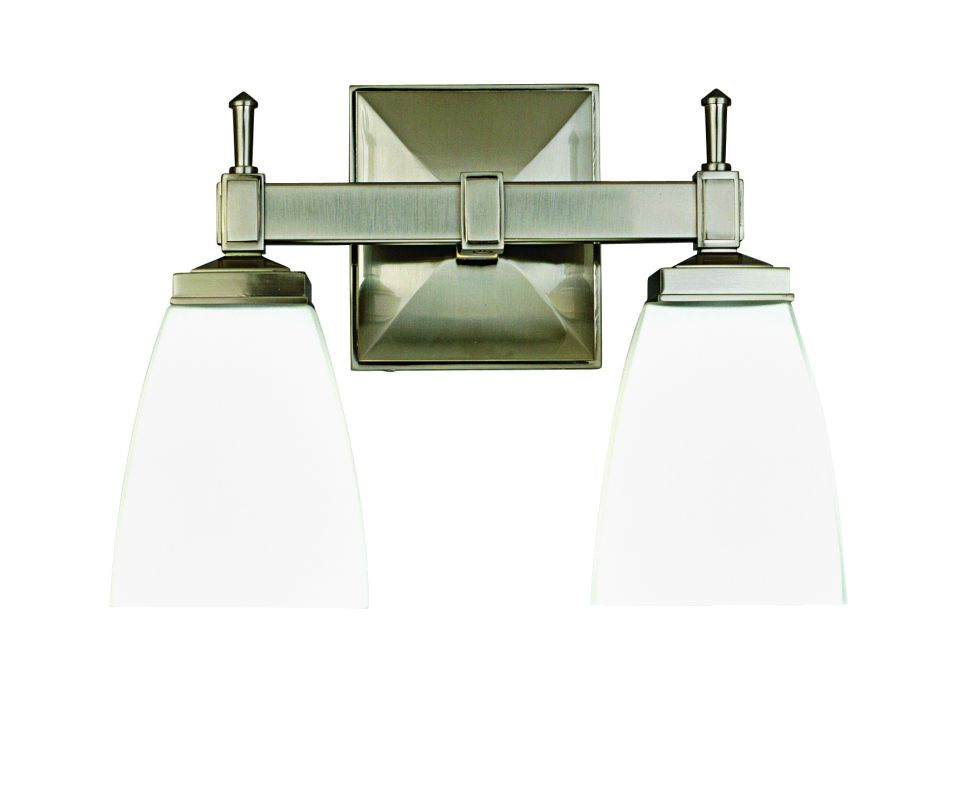 """Hudson Valley Lighting 652 Two Light 12"""" Wide Bathroom Fixture from Sale $278.00 ITEM: bci526140 ID#:652-SN UPC: 806134031695 :"""