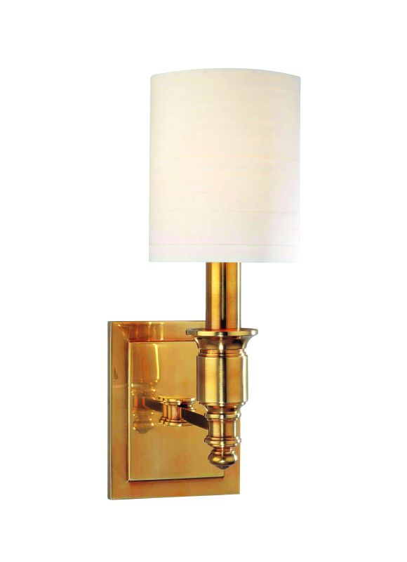 Hudson Valley Lighting 7501 Single Light Up Lighting Wallchiere Style Sale $268.00 ITEM: bci1737628 ID#:7501-AGB UPC: 806134125080 :