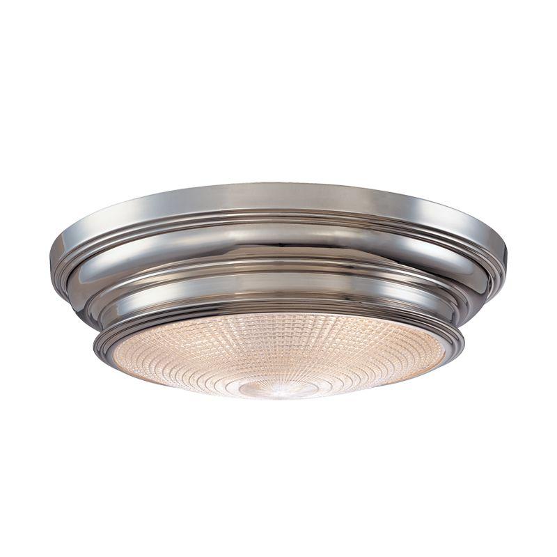 Hudson Valley Lighting 7520 Woodstock 3 Light Flush Mount Ceiling Sale $344.00 ITEM: bci982821 ID#:7520-PN UPC: 806134055776 :