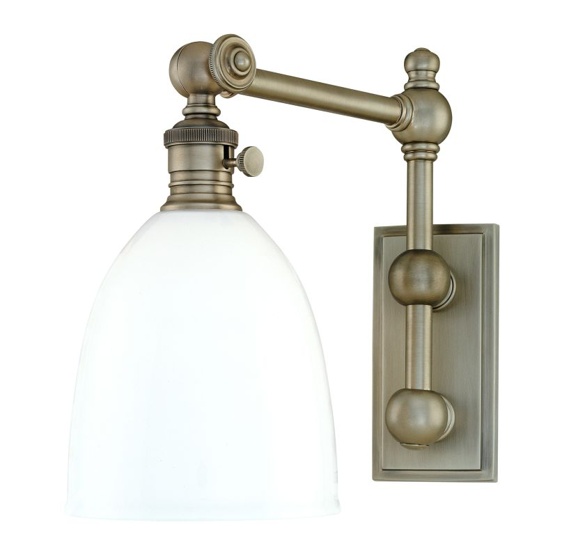 Hudson Valley Lighting 762 Roslyn 1 Light Swing Arm Wall Sconce Sale $534.00 ITEM: bci982233 ID#:762-AN UPC: 806134058685 :