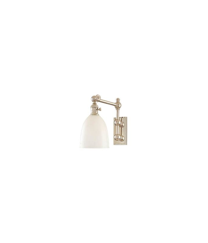 Hudson Valley Lighting 762 Roslyn 1 Light Swing Arm Wall Sconce Sale $534.00 ITEM: bci982234 ID#:762-PN UPC: 806134058708 :