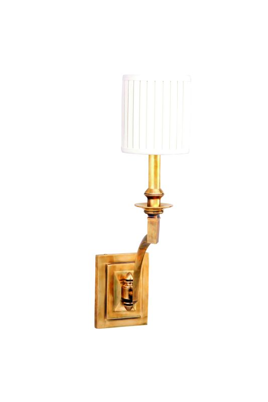 Hudson Valley 7901-AGB Aged Brass Contemporary Mercer Wall Sconce